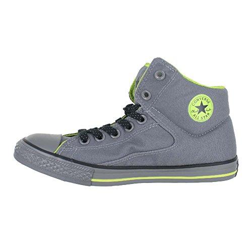 Converse Chuck Taylor All Star Street Mid - Zapatillas para niños MASON LIME THUNDER