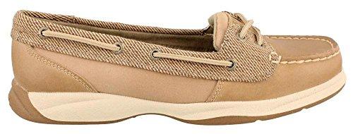 Mujer de Sperry, Laguna barco zapatos lino marrón