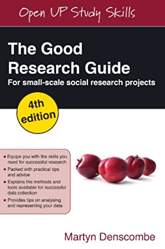 amazon com the good research guide for small scale social research rh amazon com denscombe the good research guide reference denscombe the good research guide reference