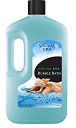 Sonoma Spa Bubble Bath, Ocean Spa, 64 Fluid Ounce