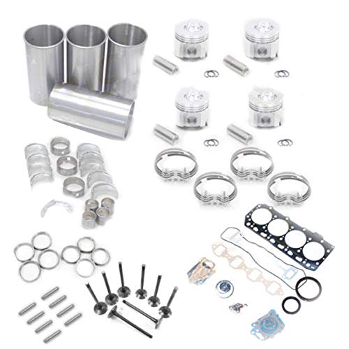 4D95L-1 Overhaul Rebuild Kit - SINOCMP Excavator Parts for Komatsu PC60-5 PC60-6 PC60-7 PC75UU-1 Parts, 3 Month Warranty