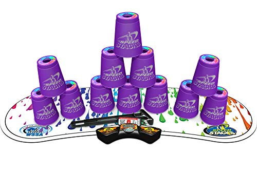 - SPEED STACKS Competitor - Royal Purple w/ Rainbow Drops Mat
