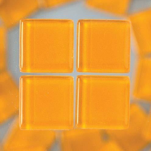 Orange MosaixSoft 15/x 15/x 4/mm 200/g 91-teilig Glas Fliesen