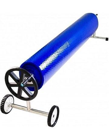International Pool Protection Enrollador Piscina para Cubierta Solar Verano de Anchura 4,3 a 5