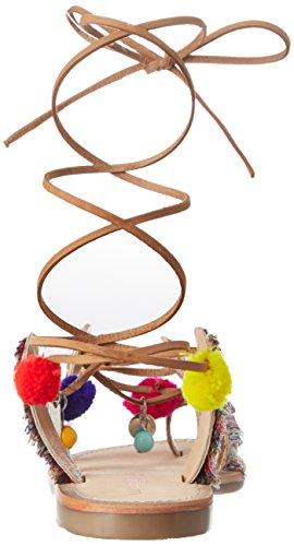 Les Tropéziennes par M. Belarbi Orient, Sandalias de Gladiador Mujer Multicolor (Multi)
