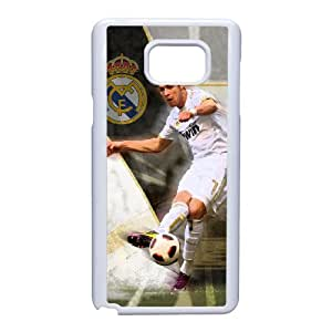 Generic hard plastic Cristiano Ronaldo Cell Phone Case for Samsung Galaxy Note 5 White ABC83