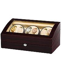 JQUEEN Six Watch Winders 7 Storages with Three Quiet Mabuchi