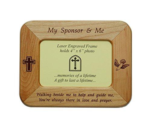 (My Sponsor Maple Frame)
