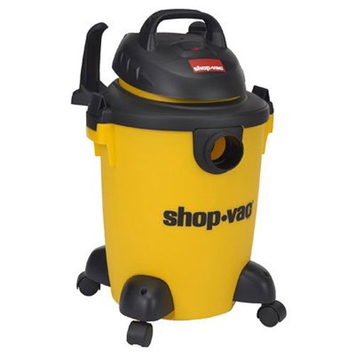 Shop-Vac 5950600 3.0 Peak hp Wet/Dry Vacuum, 6 gallon, Yellow/Black
