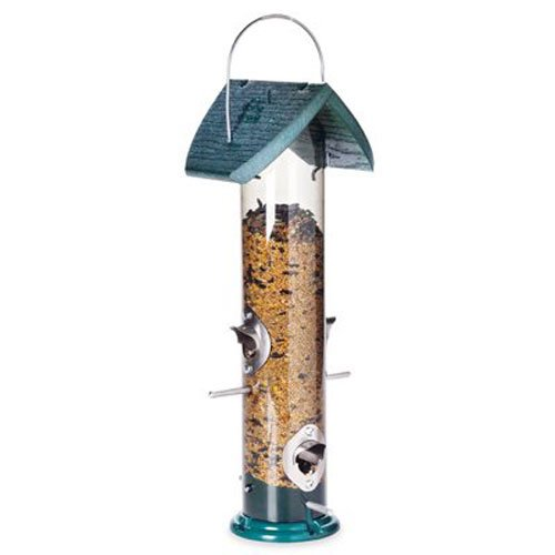 (Audubon Going Green Tube Mixed Seed Feeder  Model  NAGGTUBE4)