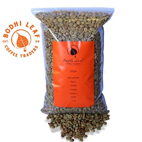 Decaf ORGANIC Honduras (5 LB) Raw Green Coffee Beans for Roasting, Direct Trade Unroasted Specialty Beans - Swiss Water Process - 5 LB Bulk Bag