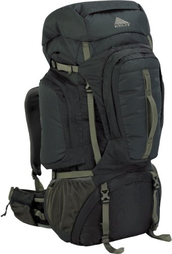 Kelty Red Cloud 110 (2012) Internal Frame Backpack – Charcoal, Outdoor Stuffs
