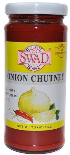 Swad Onion Chutney - 7.5oz