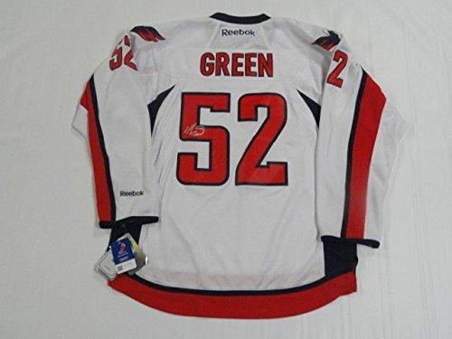 Mike Green Autographed Jersey - Reebok Premier Road Coa - JSA Certified - Autographed NHL Jerseys