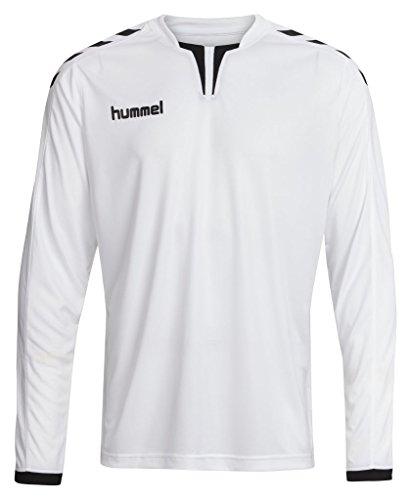 - Hummel Sport Hummel Core Long Sleeve Soccer Jersey, White/Black, Large