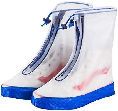 シューズカバー 自転車用靴の足レギンス雨雨防水シューズSHOESバイパスはブーツで再利用可能なウォッシャブル雪を滑ります 通勤 通学 自転車用 (Color : Orange, Size : XXXL)