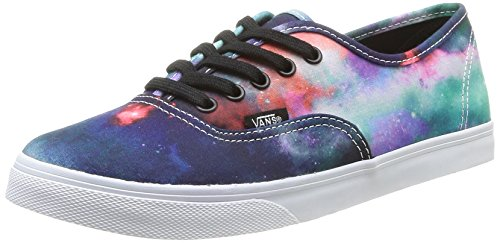 Vans Unisex Authentic Lo Pro (Galaxy) Nebula/Truewhite Skate Shoe 8.5 Men US / 10 Women US