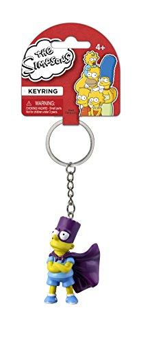 Fox The Simpsons Bart 3D PVC Key Ring (Simpsons Key Rings)