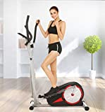 Flyerstoy Vertical Climber Home Gym Exercise – Folding Exercise Climbing Machine Exercise Bike Total Body Cardio Workout for Home Gym Body Trainer [US Stock]