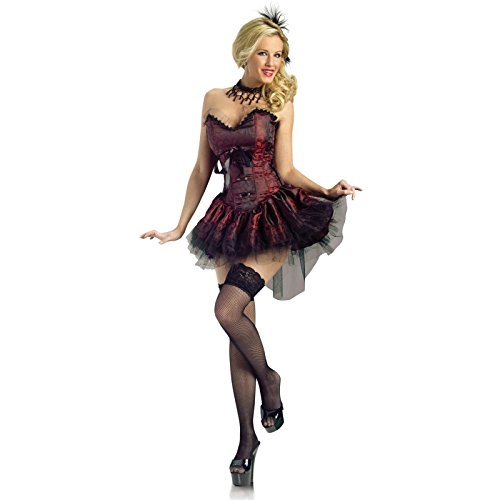[FunWorld Costumes Saloon Girl, Medium-Large, 1 ea (Medium / Large)] (Saloon Girl Adult Womens Costumes)