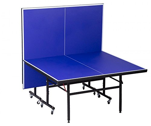 Professional Grade Folding Ping Pong Table Tennis Table and Net Set (Kit Tabletop Conversion Storage)