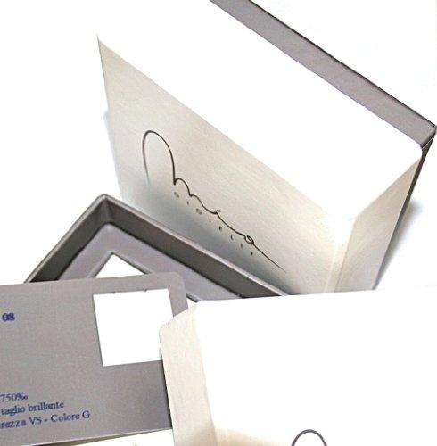 Mia Gioielli - boucles d'oreilles Or Blanc 750/1000 ( 18 carats ) - Perles Cultures d'Eau douce - Ronde