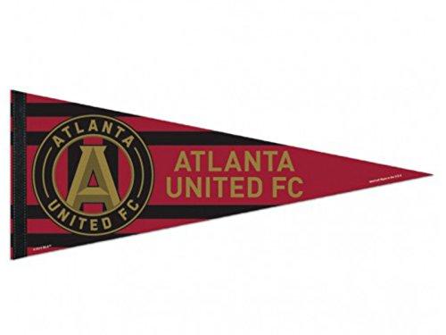 (WinCraft Atlanta United FC Red Black Felt Team Logo Pennant)