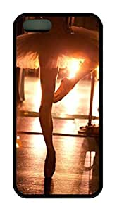 Ballet Dance under Sunset Theme Iphone 5 5s Case TPU Material