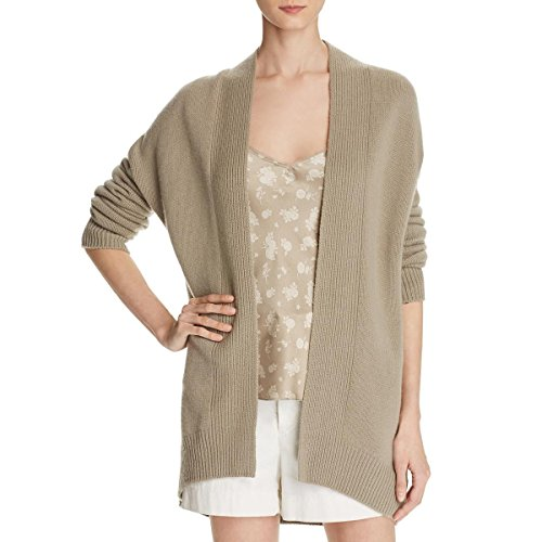 Vince Women's Open Front Cardigan, Stucco, S