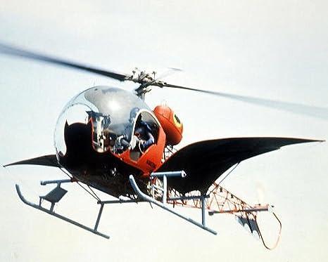 Batman Adam West en controles de bate helicóptero 10 x 8 ...