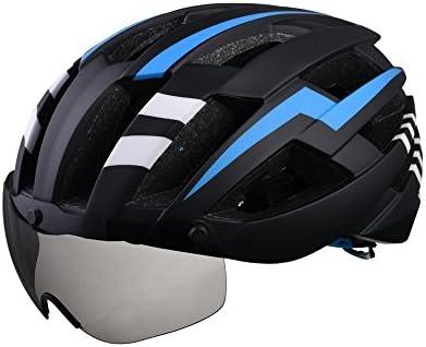 LOLIVEVE Cascos de Bicicleta Gafas Cascos Deportes Seguridad al ...