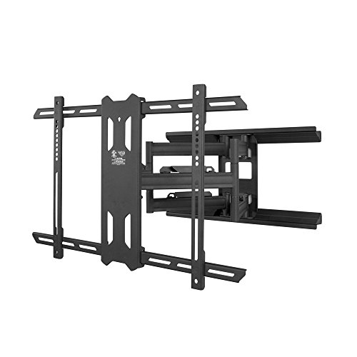 Kanto PDX650 Full Motion Mount for 37-inch to 75-inch TVs, Black