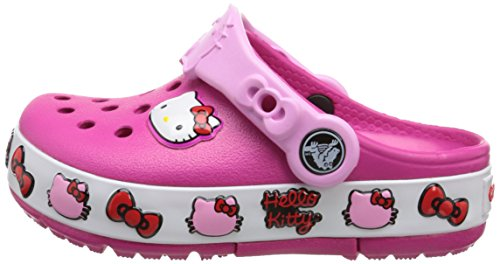 b06d8cadae13 Crocs Girls  CrocsLights Hello Kitty Light-Up Clog - Buy Online in ...