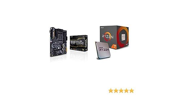Pack Placa Base ASUS y Procesador AMD:TUF B450-PRO Gaming y AMD Ryzen 7 2700X: Amazon.es: Informática