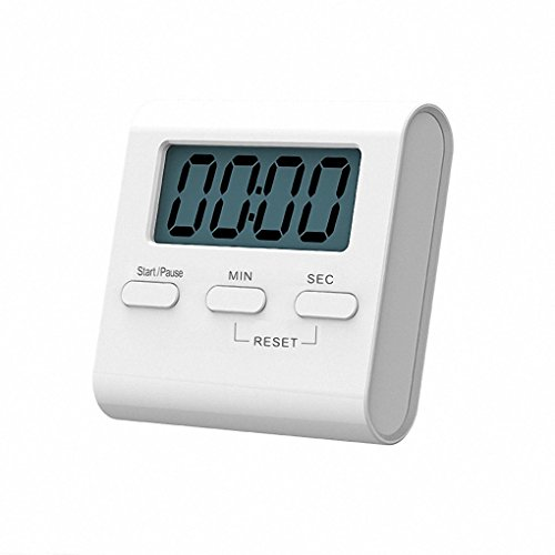 LCD Display Digital Kitchen Timer with Loud Alarm, Magnetic