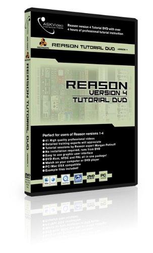 Ask video tutorial dvd: reason 4 (academic) reason4-ed b&h photo.