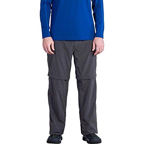 [ExOfficio Men's Amphi Convertible Pants, Dark Charcoal, 32] (Mens Amphi Convertible Pant)