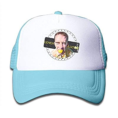 Wagroo Lemon Face Challenge Child Baby Kid Mesh Caps Adjustable Trucker Hats Summer Snapback