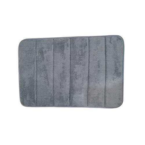 Momangel Anti vermoeidheid Comfort Vloermat Dikke Memory Foam Spa Extra Ondersteuning en Dik voor Thuis en Kantoor Grijs