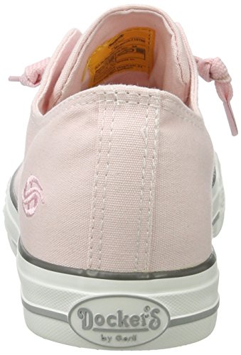 Basses Dockers 36ur210 Gerli by Pink 760 Rosa 710760 Femme Sneakers WWTHnx