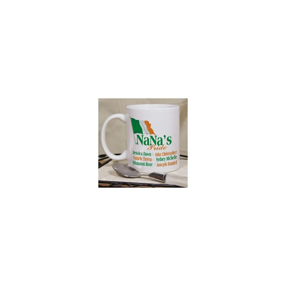 Irish Pride Ceramic Personalized Coffee Mug