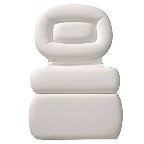 HomeCrate Non-slip Spa Bath Pillow Powerful Gripping 3-Panel Head, Shoulder & Neck (Panel 3 Jet)