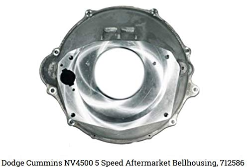 Dodge Cummins Diesel NV4500 5 Speed transmission Bellhousing 712586 (Best Clutch For Cummins Nv4500)
