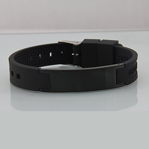 Energy Sports Medicine (Treadlife's Magnetic Energy Ion Bracelet. Great for Joints, Sports, Sleep, Lack of Energy)