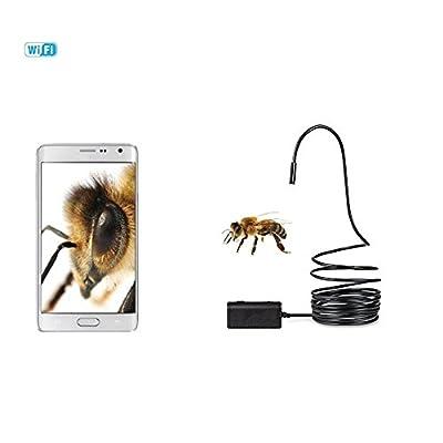 6LED endoscope sans fil WiFi endoscope avec Inspection 2m Caméra HD pour l'Action: qu'Est-ce qui est à l'intérieur du trou?