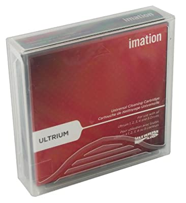 Imation 15931 Universal Dry Process Cleaning Cartridge for LTO Ultrium 1, 2 amp;amp; 3, 50 Uses from Imation