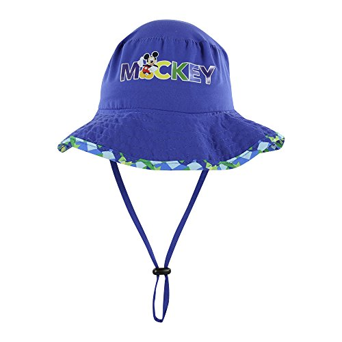 Disney Minnie and Mickey Girls and Boys Sun Boonie Hat - 100% Cotton