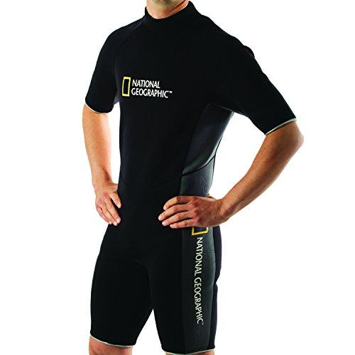 National Geographic Snorkeler Men's Classic Shorty Suit, Large 5919 by National Geographic Snorkeler (Image #2)