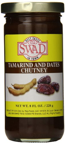 Swad Tamarind and Dates Chutney, 8 Ounce