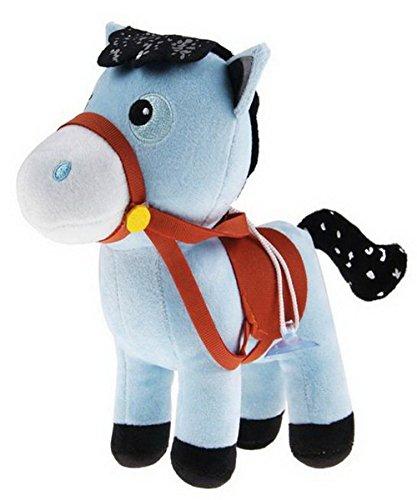 (Playset Sheriff Callie's Wild West Plush Doll Blue Horse Pony Sparky-7.9inch/20cm)